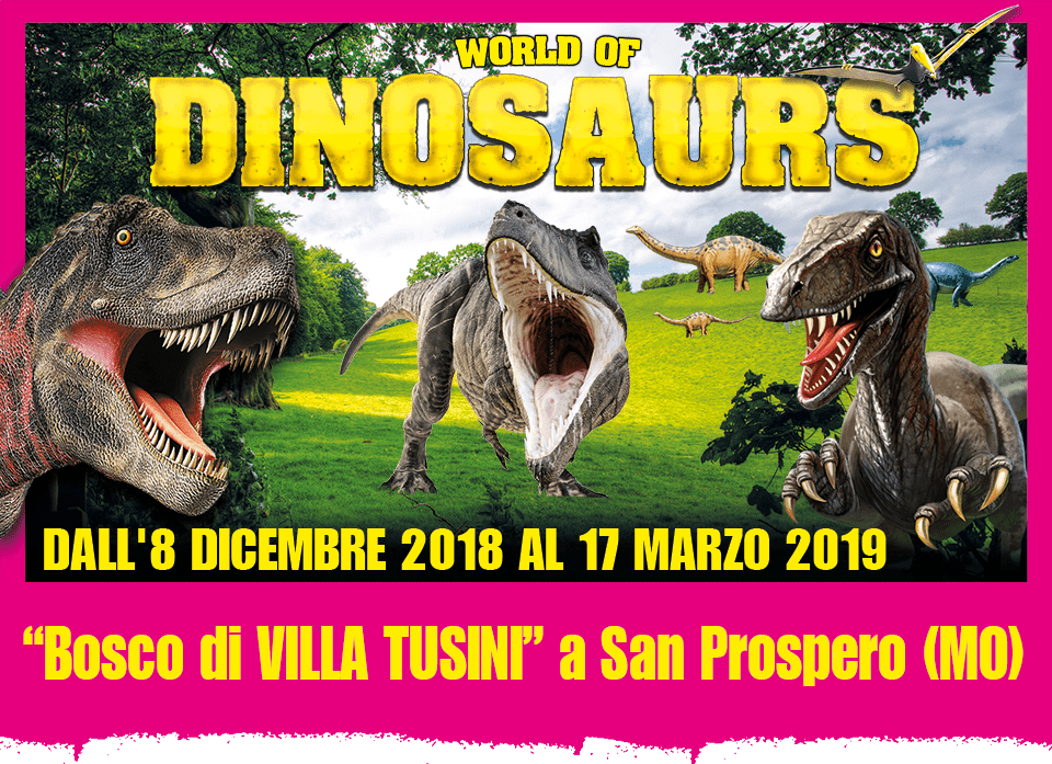 World of Dinosaurs San Prospero